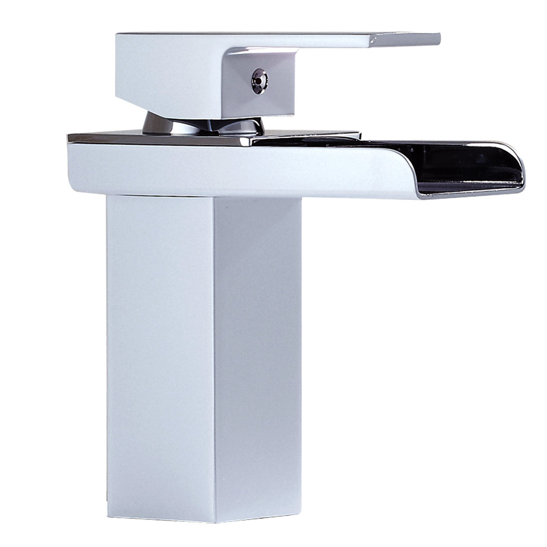 Waterfall Type Bathroom Faucets: 5X(Single Handle Waterfall Bathroom Vanity Sink Faucet