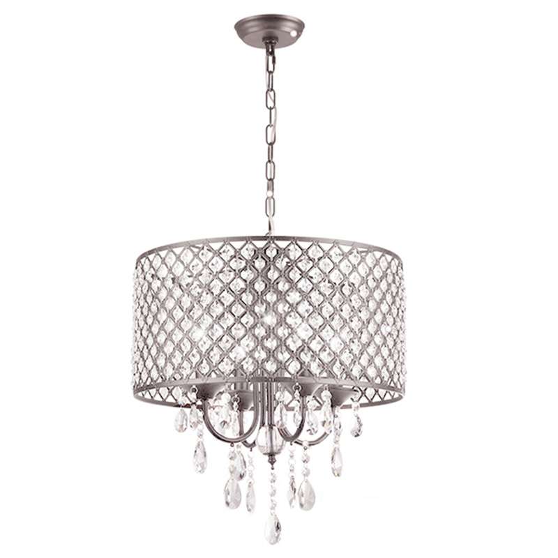 Image Is Loading 40cm Modern Contemporary Crystal Pendant Light Ceiling Lamp