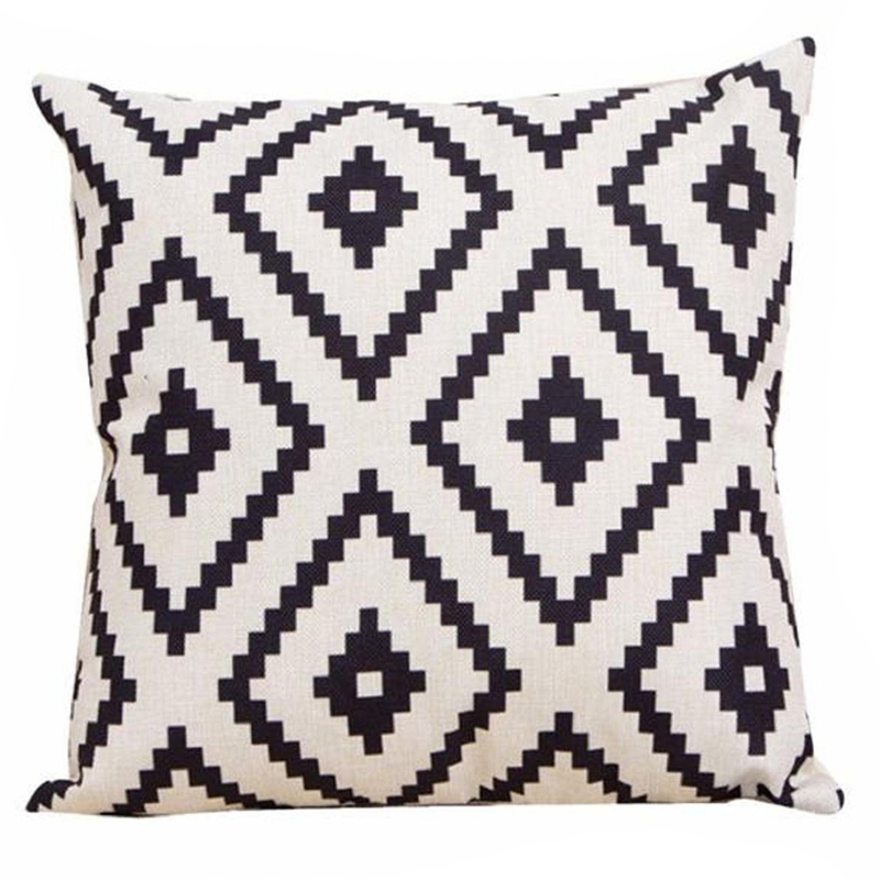 Geometric-Argyle-Linen-Throw-Pillow-Case-Cushion-Cover-Home-Decor-P7R9