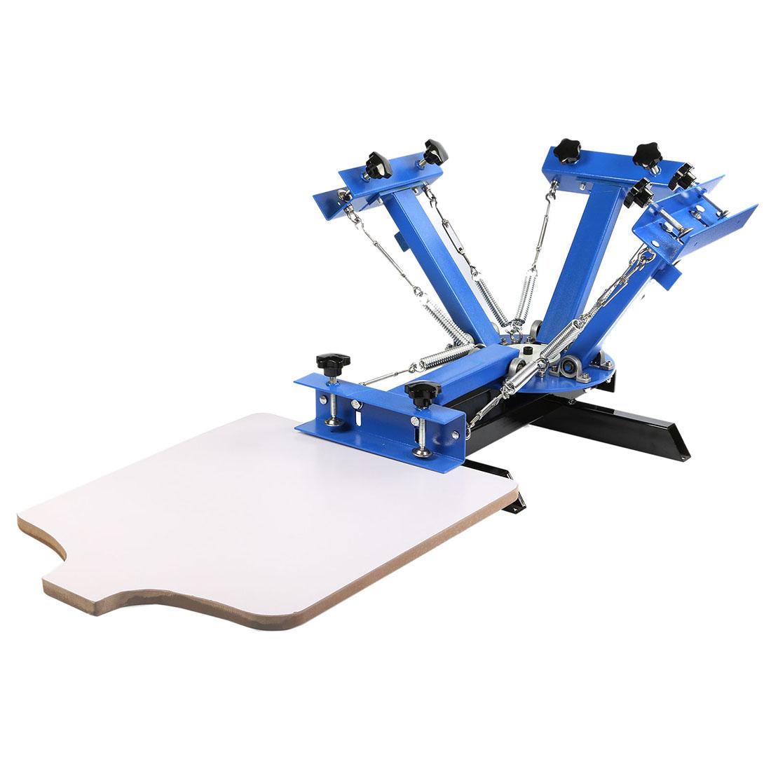 Silk Screen Printing Press 1 Station Diy T Shirt Printer