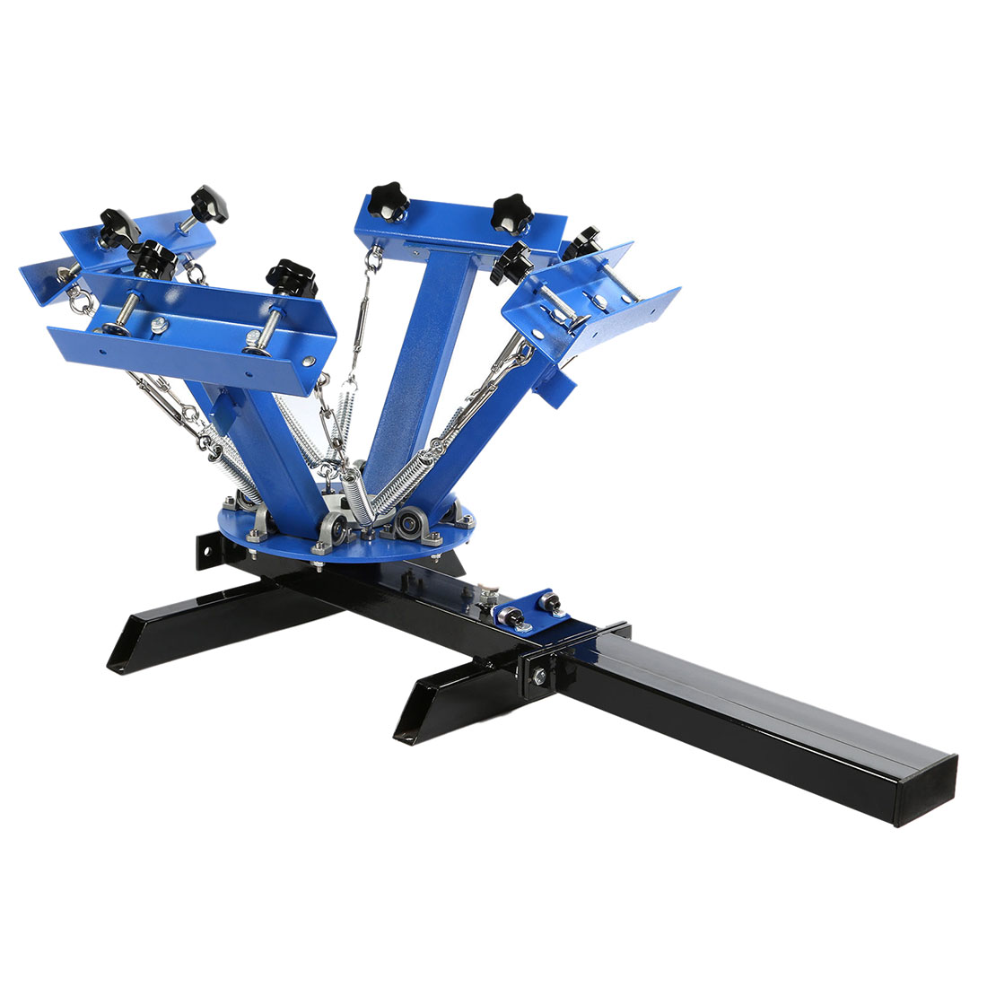 Silk screen printing press 4color 1station diy t shirt for Diy tee shirt printing