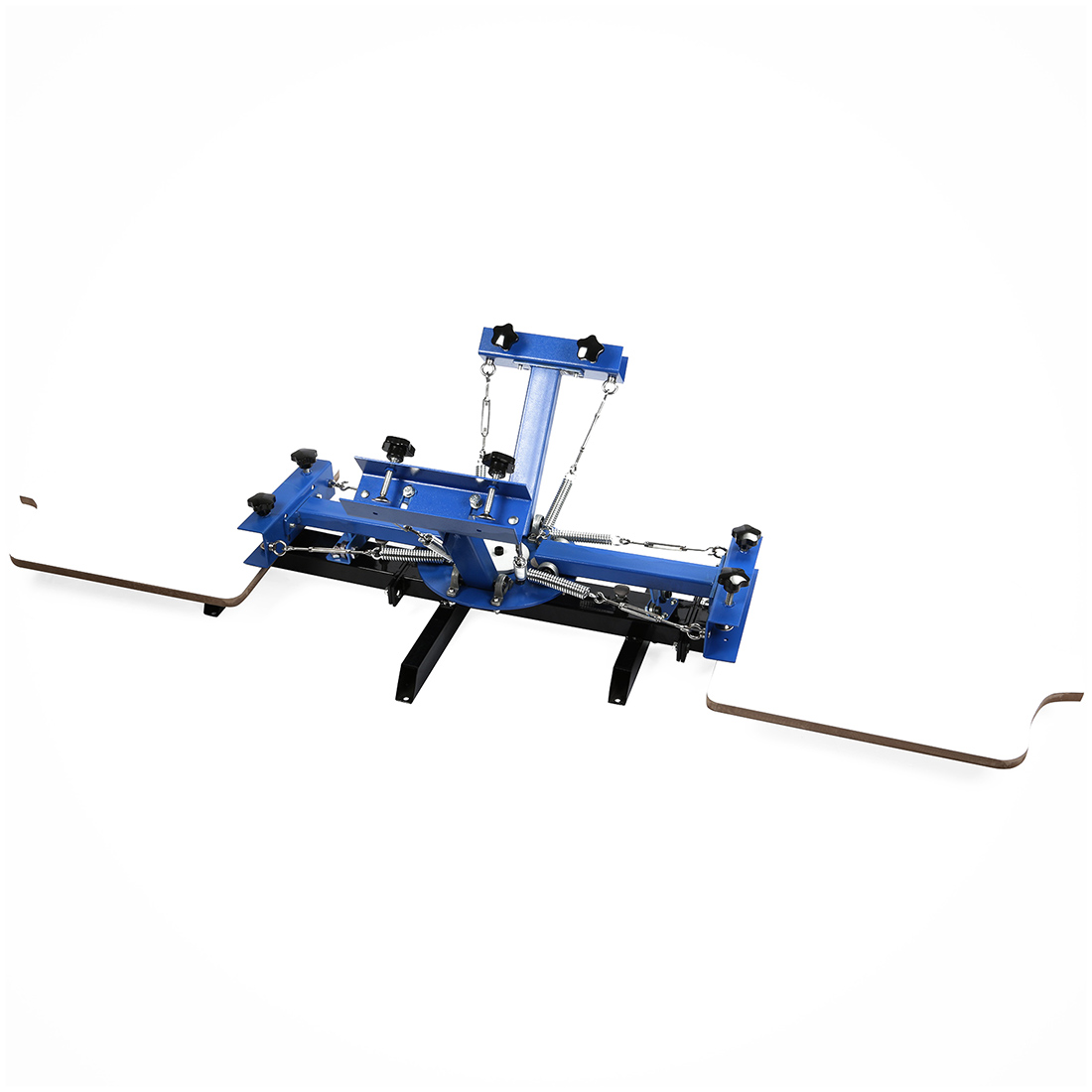 4 Color Silk Screen Printing Machine 2 Station Press