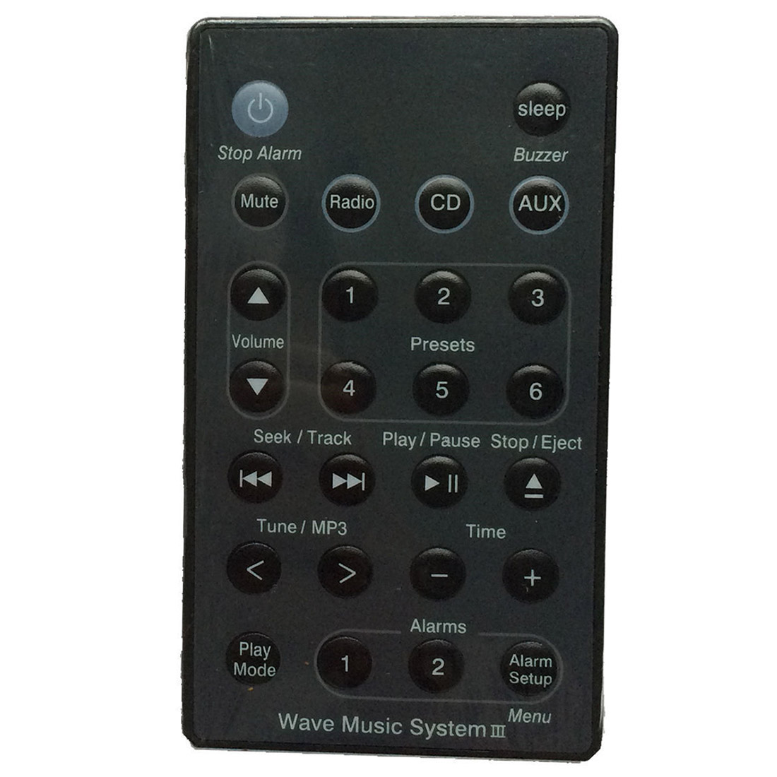 remote black for bose wave radio cd music system awrc c1. Black Bedroom Furniture Sets. Home Design Ideas