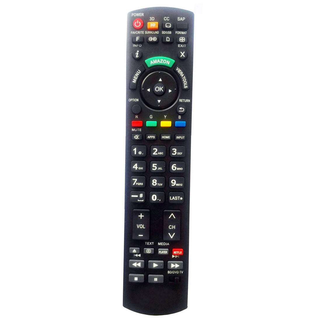new panasonic tv universal remote for eur7627z20