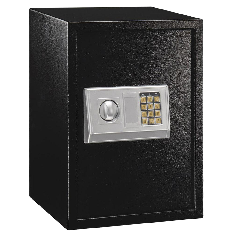 large digital electronic safe box keypad lock security home office hotel x1j3. Black Bedroom Furniture Sets. Home Design Ideas