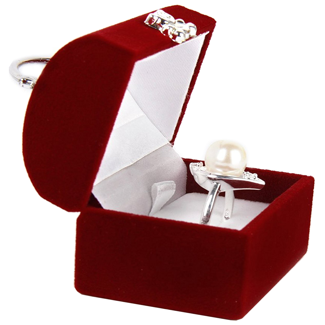 jewelery box display case for ring earrings box organizer