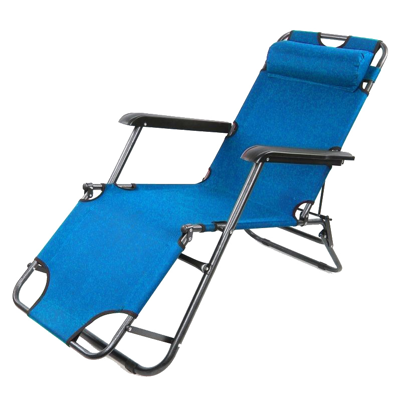2x Folding Reclining Garden Chair Sun Lounger Deck Camping Beach Lounge I9L2