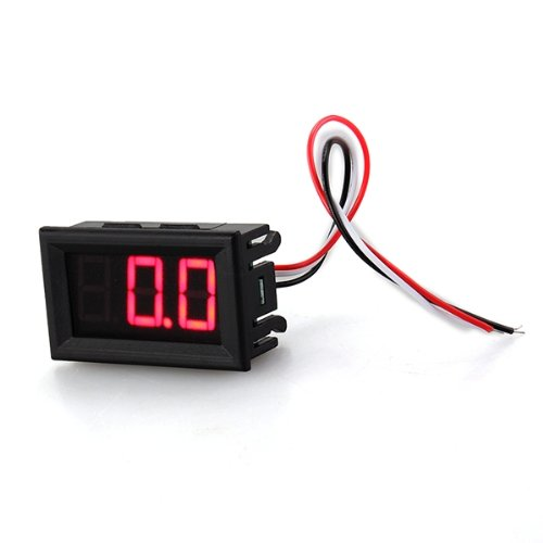 mini voltmeter tester t1gital voltage test battery dc 0 30v red auto car t1 ebay. Black Bedroom Furniture Sets. Home Design Ideas