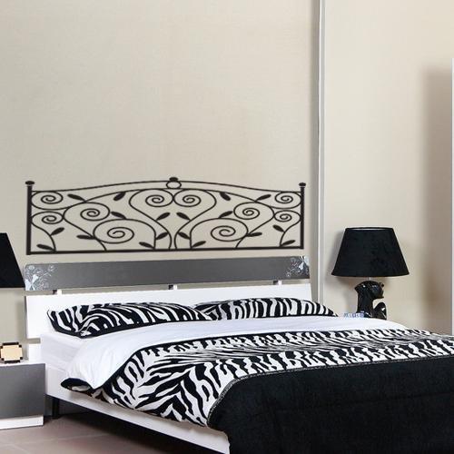 Pegatina adhesivo vinilo decorativo pared diseno cabezal - Vinilos cabezal cama ...