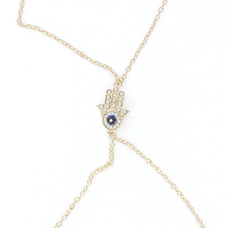 koerper kette fuer frauen um hals und taille huefte goldfarben j5 ebay. Black Bedroom Furniture Sets. Home Design Ideas