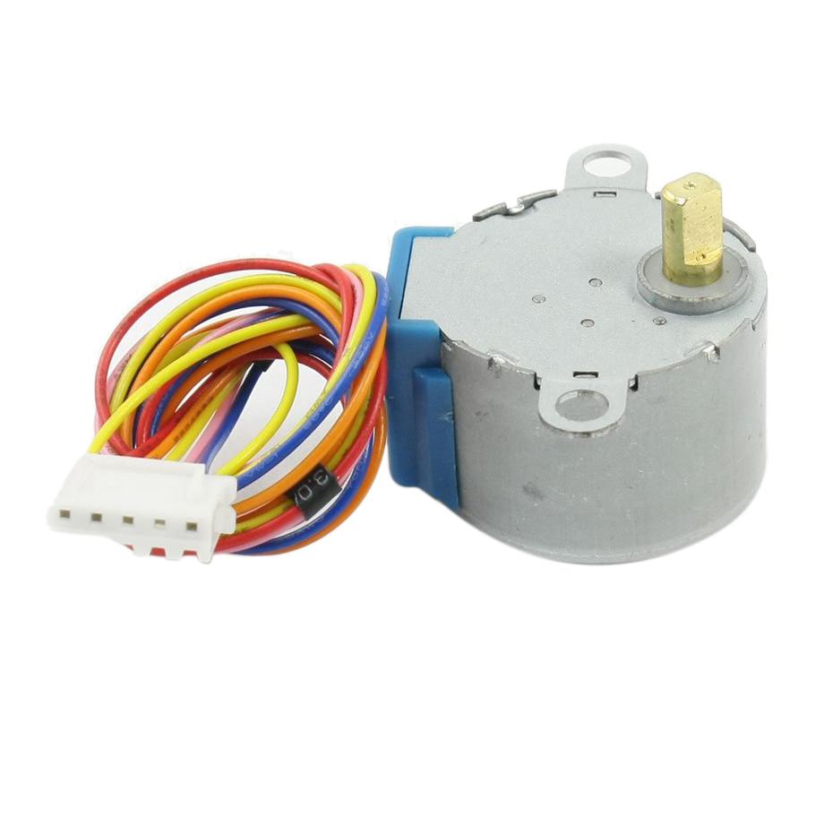 2pcs 28byj 48 5v 5 Line 4 Phase Stepper Motor For