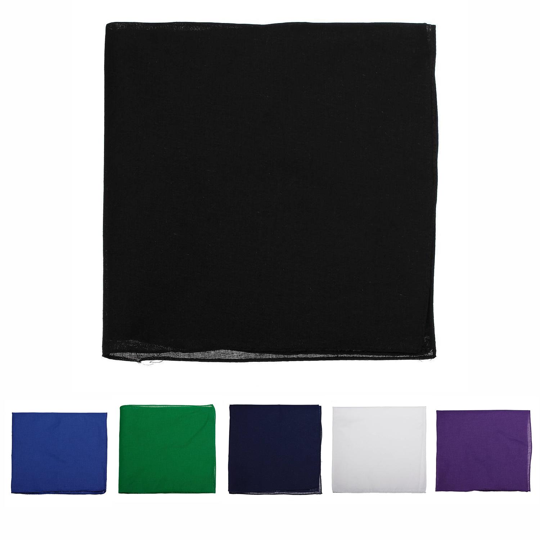 Bandana-echarpe-Foulard-d-039-ete-en-coton-unisexe-simple-coton-pour-les-femmeset-SC