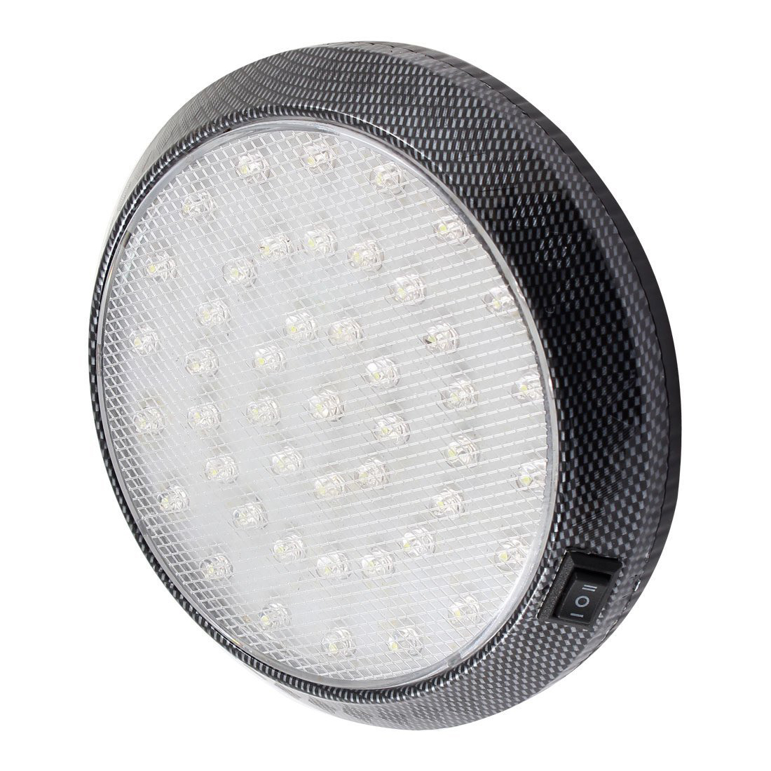 DC 12V Car Vehicle White 46 LED Dome Roof Ceiling Interior