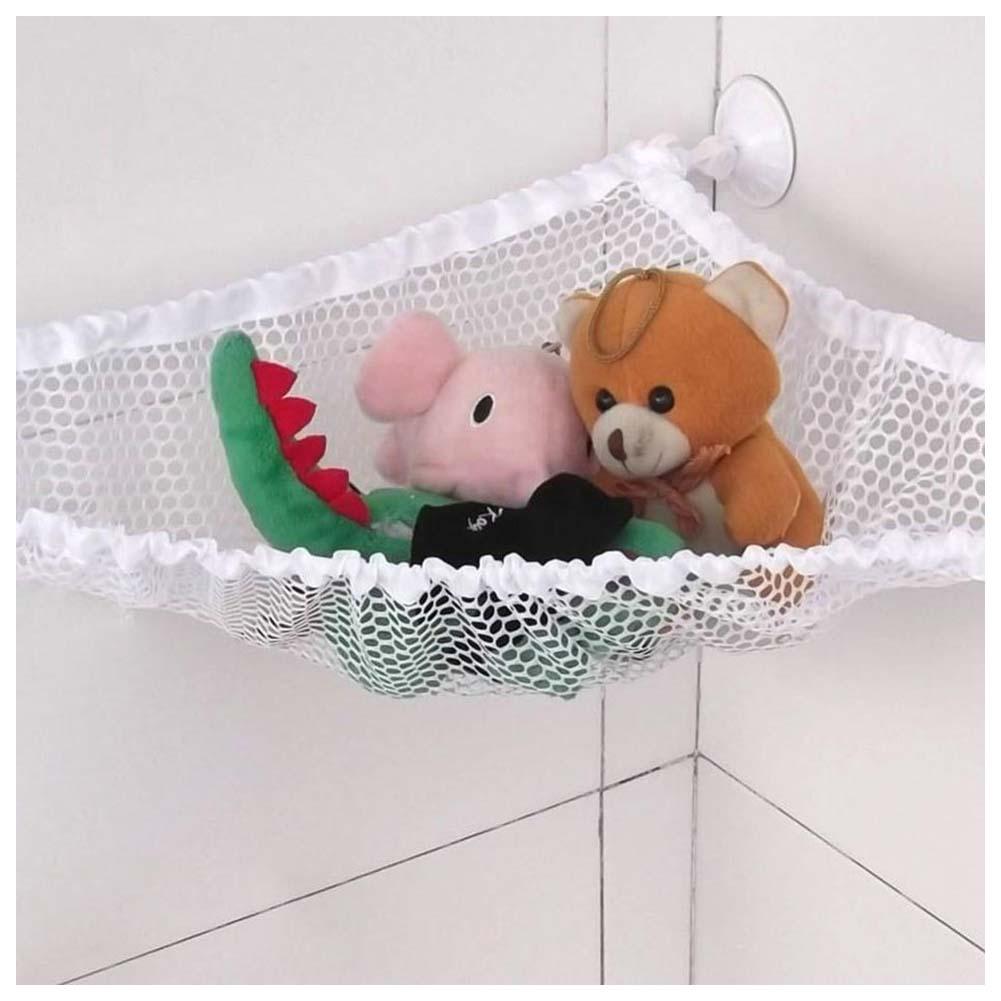 jumbo toy hammock net organizer stuffed animals storage net 32 inch a7m5 ebay. Black Bedroom Furniture Sets. Home Design Ideas