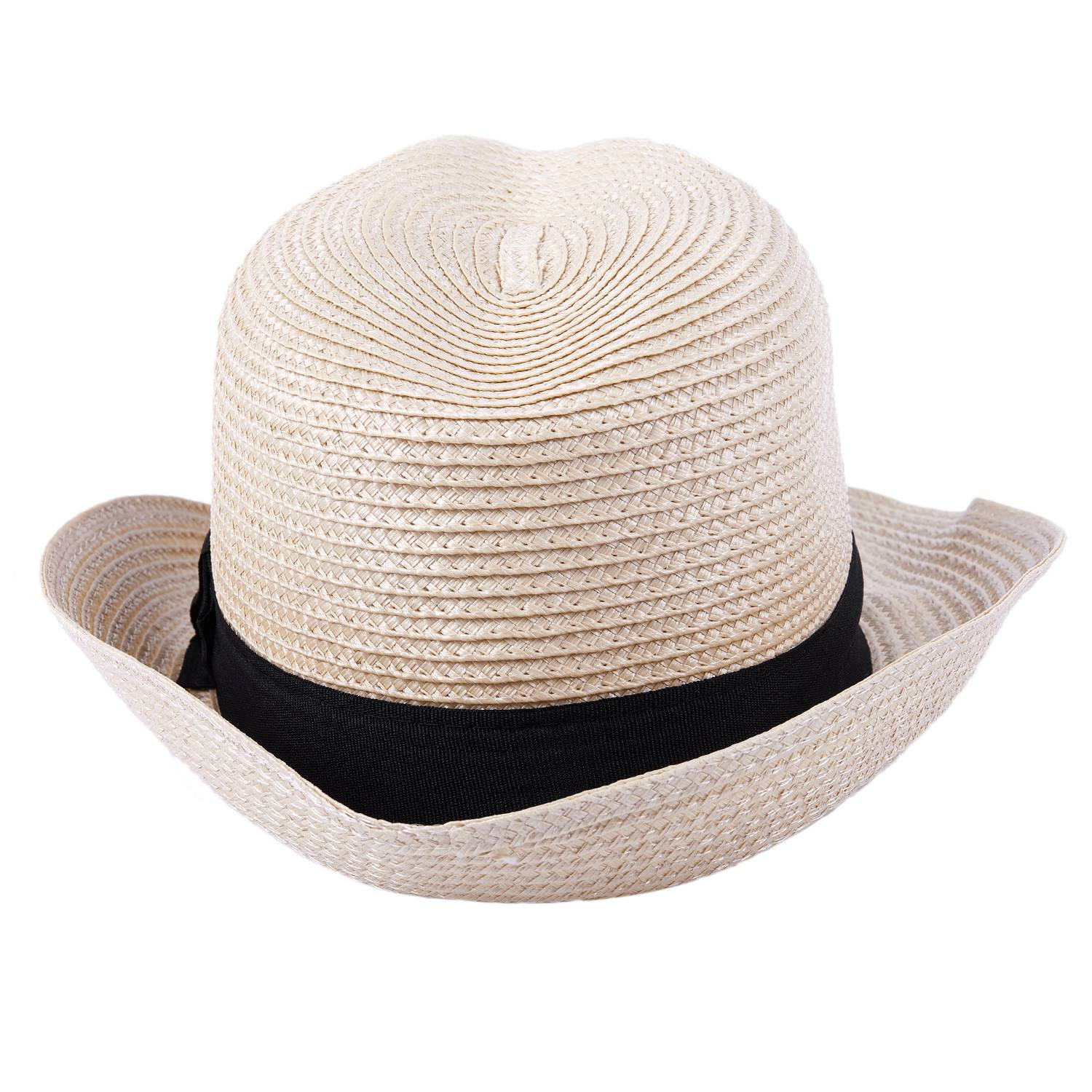 13a36042421 Details about Straw Hat - Trilby Style Crushable Summer Sun Mens Ladies -  Beige G6J3