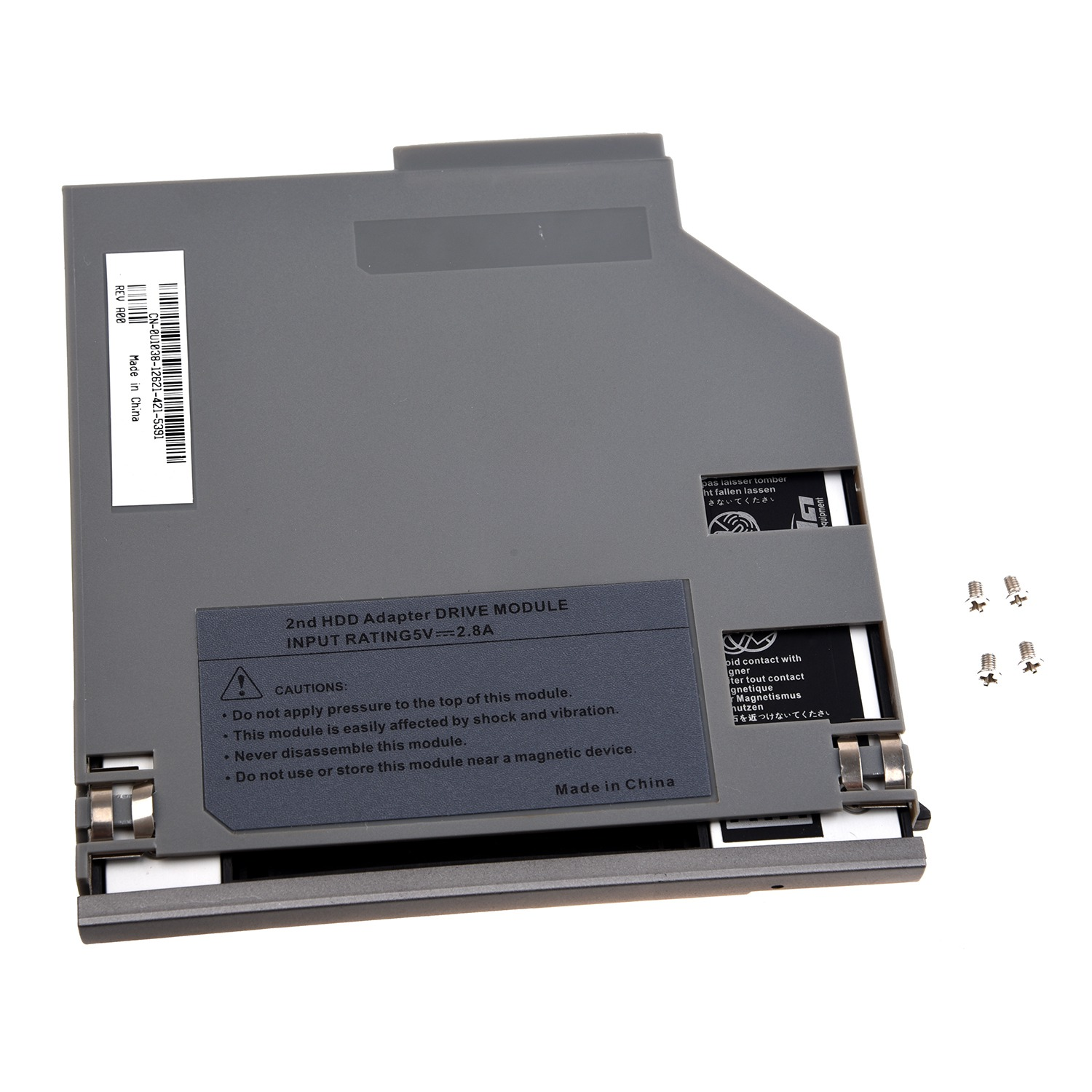 Details about SATA 2nd Hard Disk Drive HDD Bay Caddy Adapter for Dell  Latitude D800 D810 ED