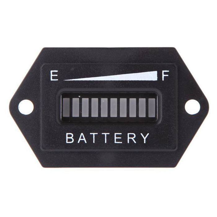 Led Battery Bank Monitor : Volt cart digital led battery status charge