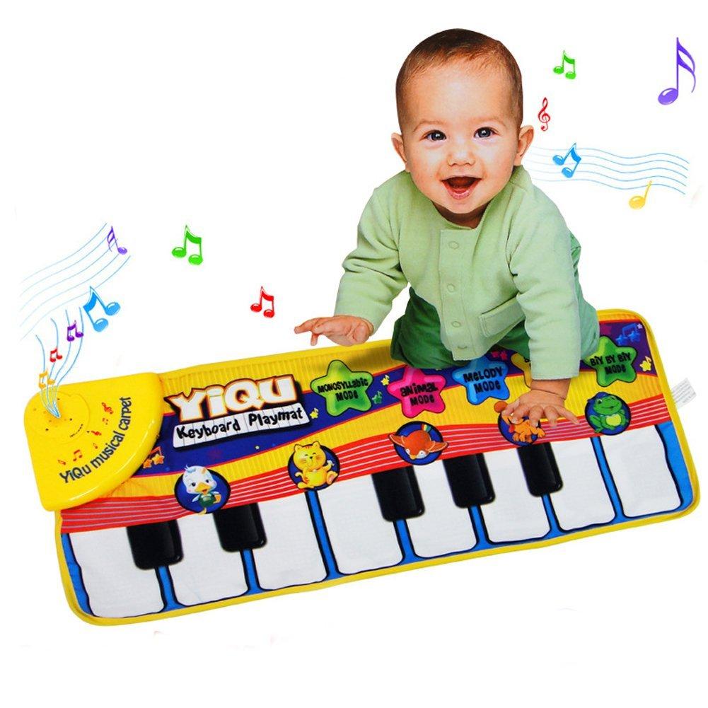 3x si yiqu klavier musik spiel teppich kriechende matte fuer babys als spielzeu ebay. Black Bedroom Furniture Sets. Home Design Ideas