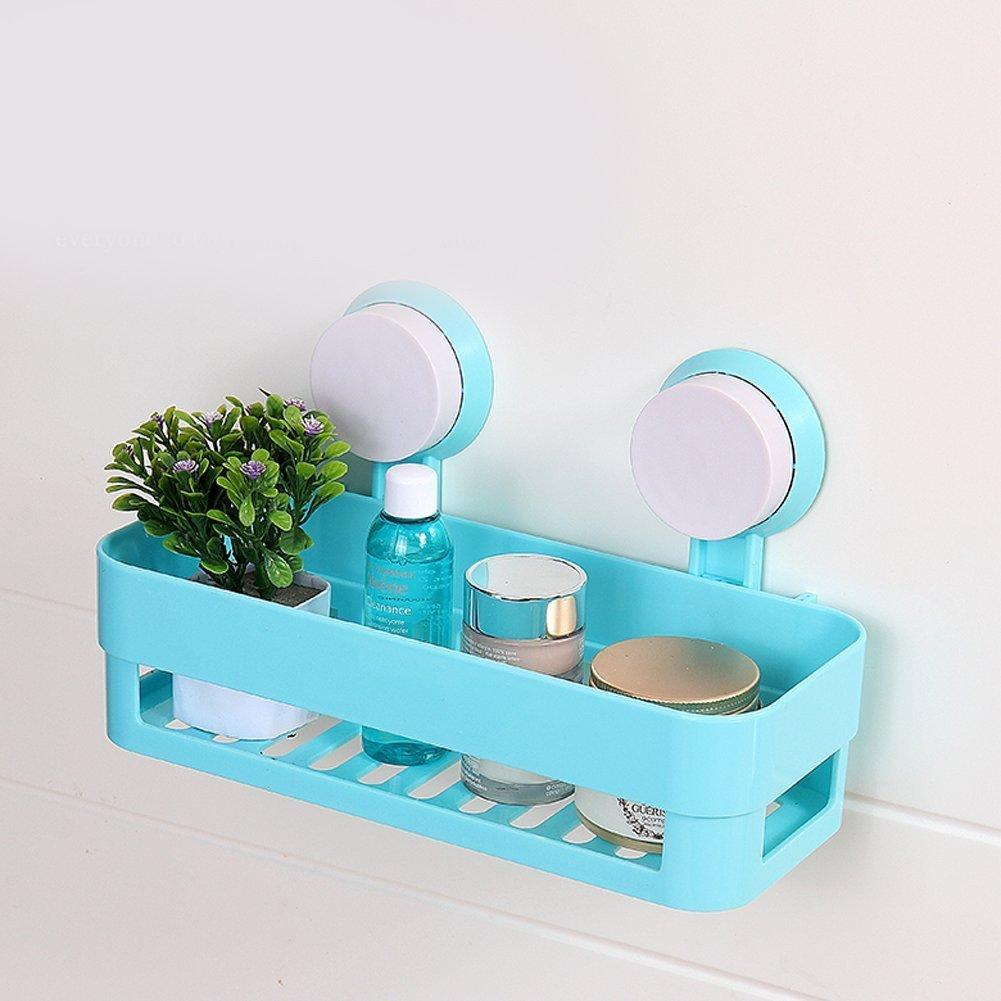 Bathroom shelf plastic shower caddy organizer holder tray for Bathroom tray organizer