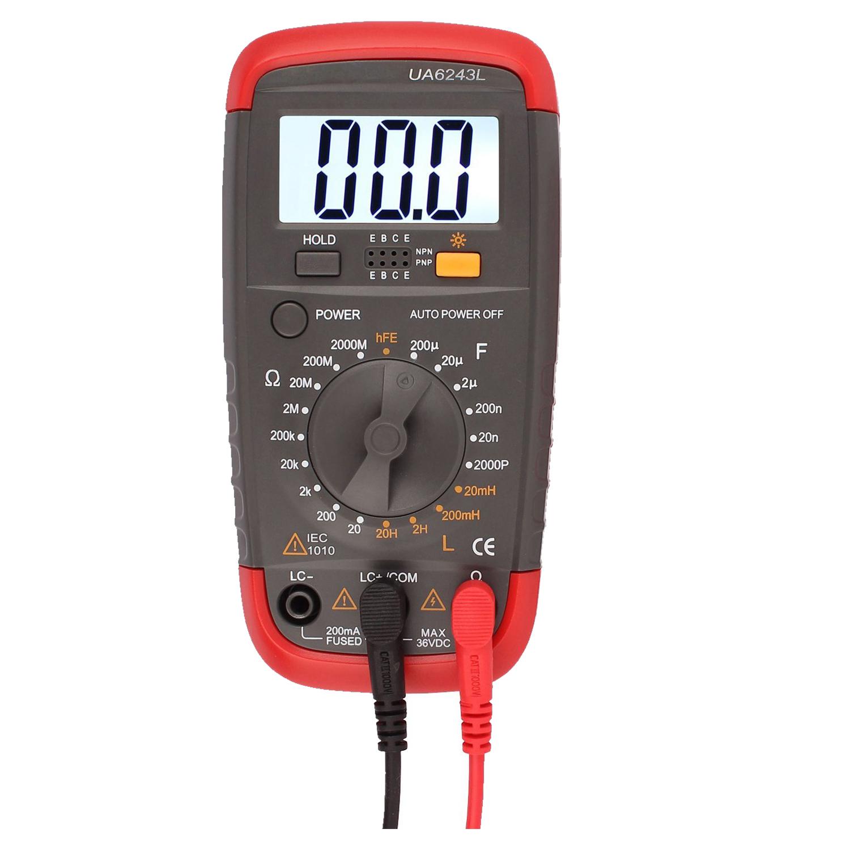 Lcr Meter Resistance : Uyigao digital multimeter dmm resistance capacitance