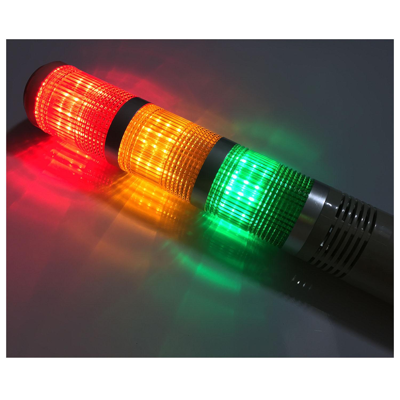 5x1s2 ac dc 24v led lampe industrieturm signal licht rot gruen 5x1s2 ac dc 24v led lampe industrieturm signal licht rot gruen gelb netto gewicht 520g shell farbe rot gelb gruen silber grau parisarafo Gallery