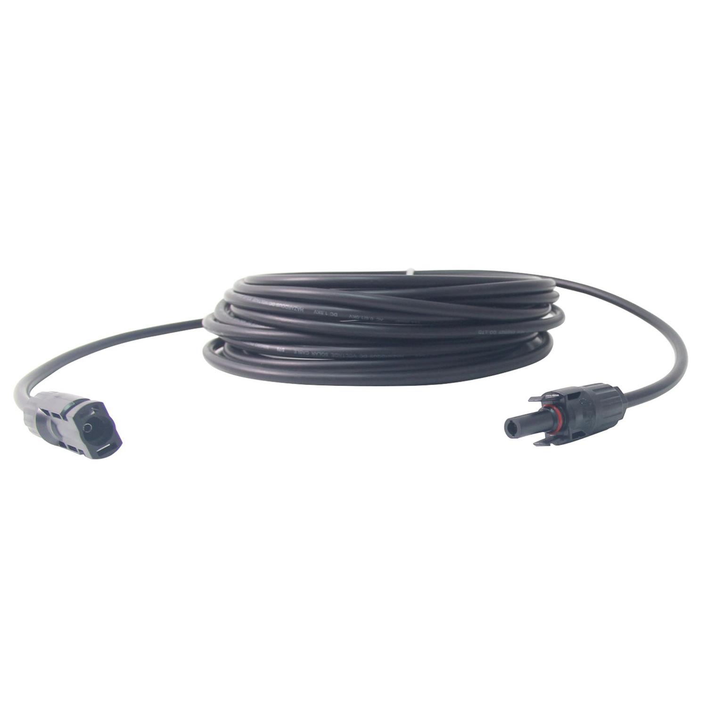 1 Packung 25ft AWG 10 Doppelschicht MC4 PV Solar Kabel Erweiterung ...