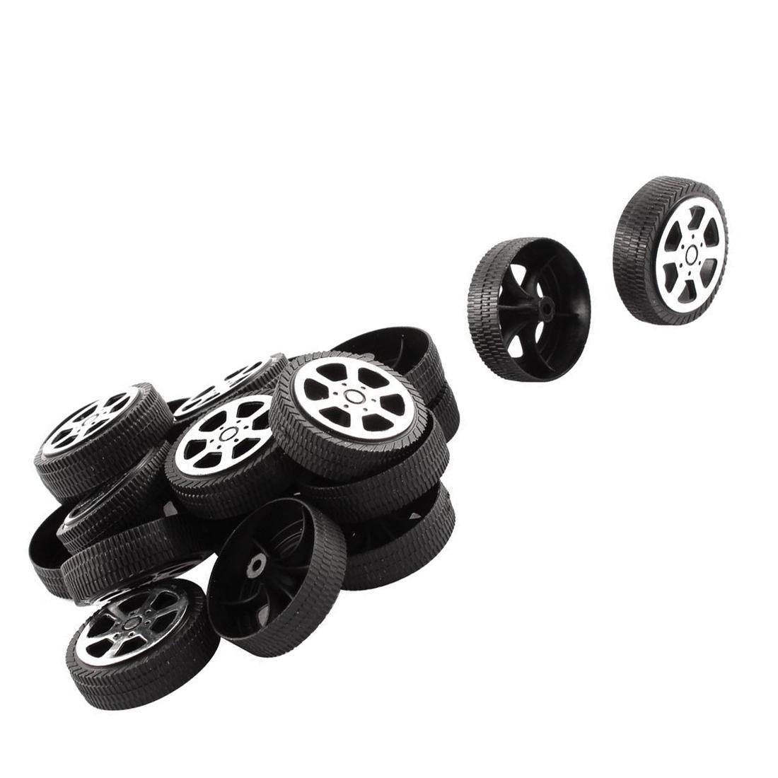 20 stk plastik rolle 2mm durchmesser welle auto lkw modell spielzeug raede n9a3 ebay. Black Bedroom Furniture Sets. Home Design Ideas