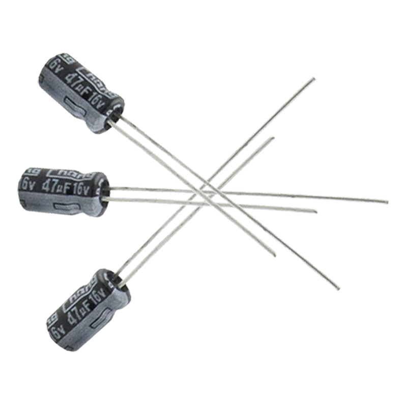 20 x 47uf 16v 105c radial electrolytic capacitor 4x7mm cp