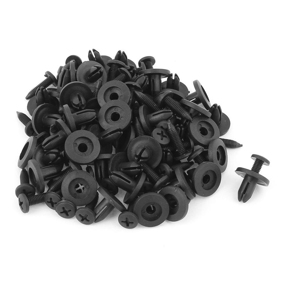 n374 50 stueck 6mm kunststoff push typ niete stossstange. Black Bedroom Furniture Sets. Home Design Ideas