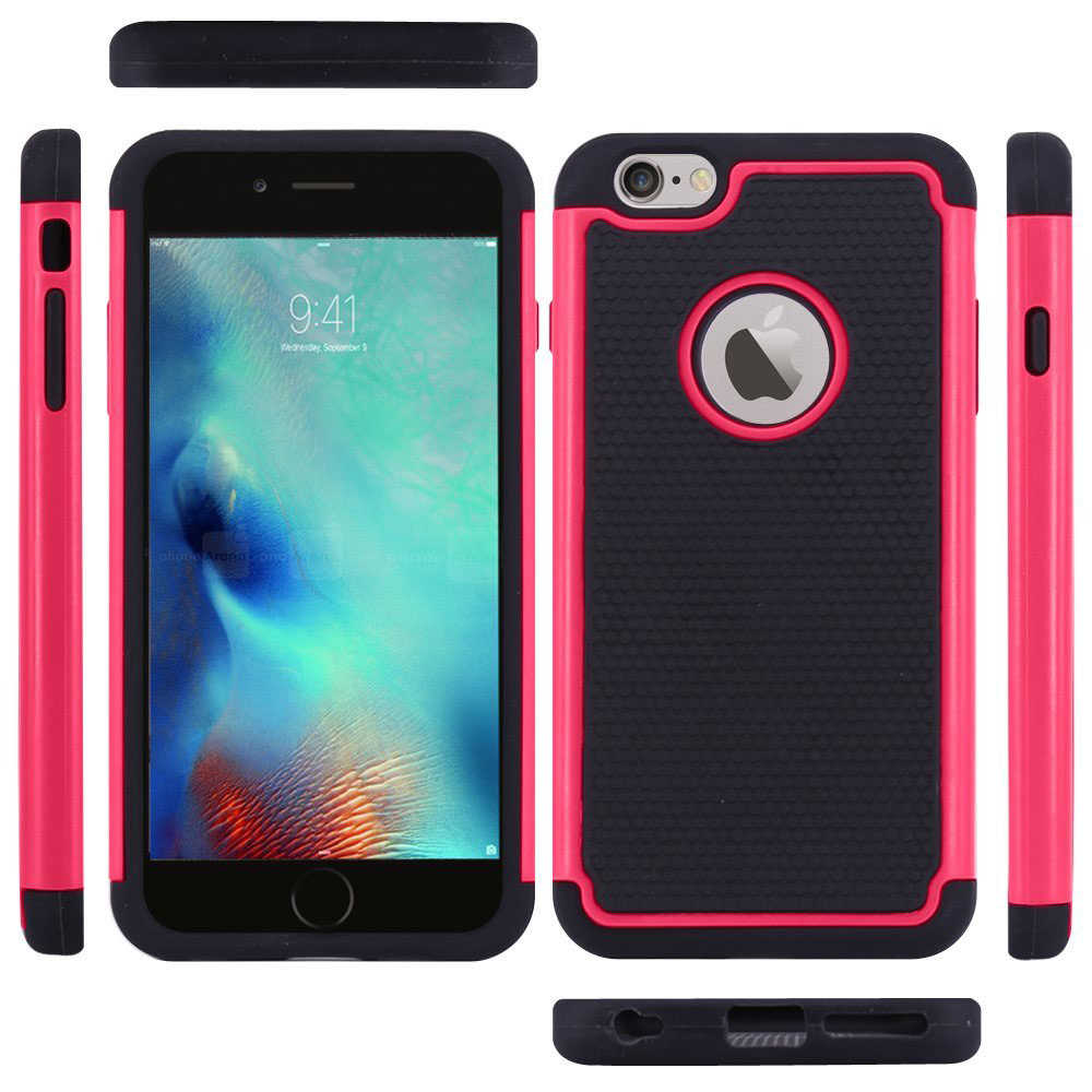 for iPhone 6 Cake Drop Protection Armor Hybrid Dual Layer Defe V1