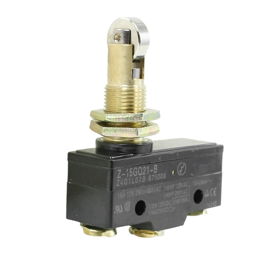 Roller Plunger Switch Lever Actuator Microswitch Spdt 5a Micro Ebay Panel Mount Cross No Basic Limit A 1100x1100