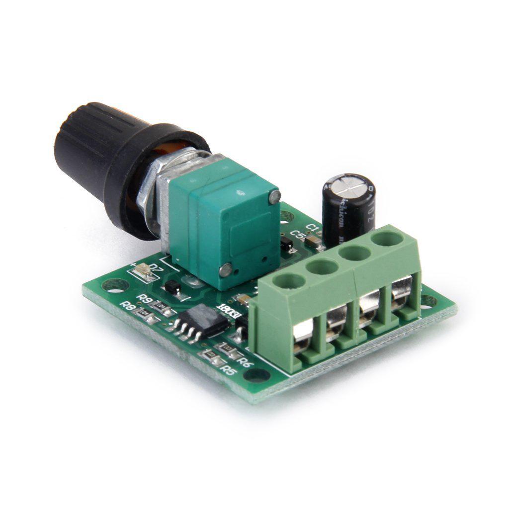 Voltage Dc 1 8v 3v 5v 6v 12v 2a Motor Speed Controller Pwm