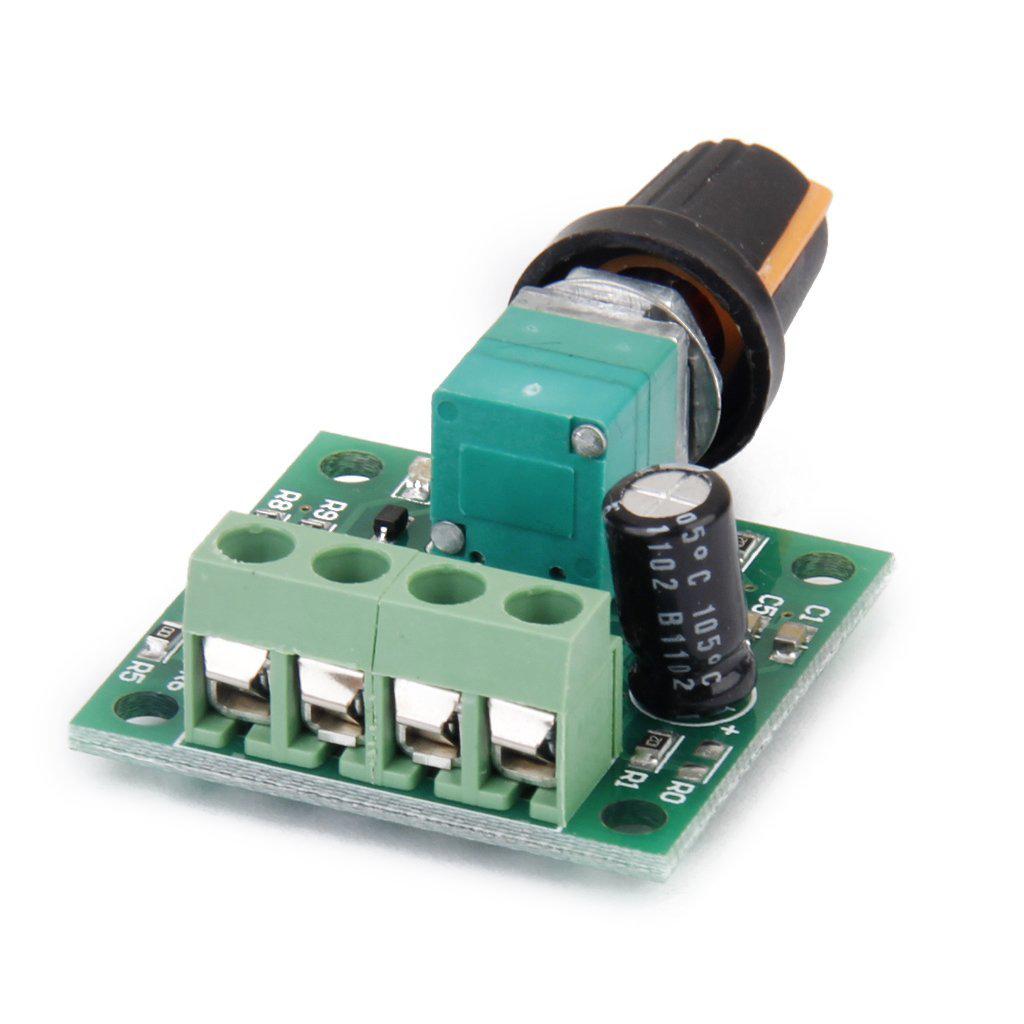 Voltage dc 1 8v 3v 5v 6v 12v 2a motor speed controller pwm for Lm317 motor speed control