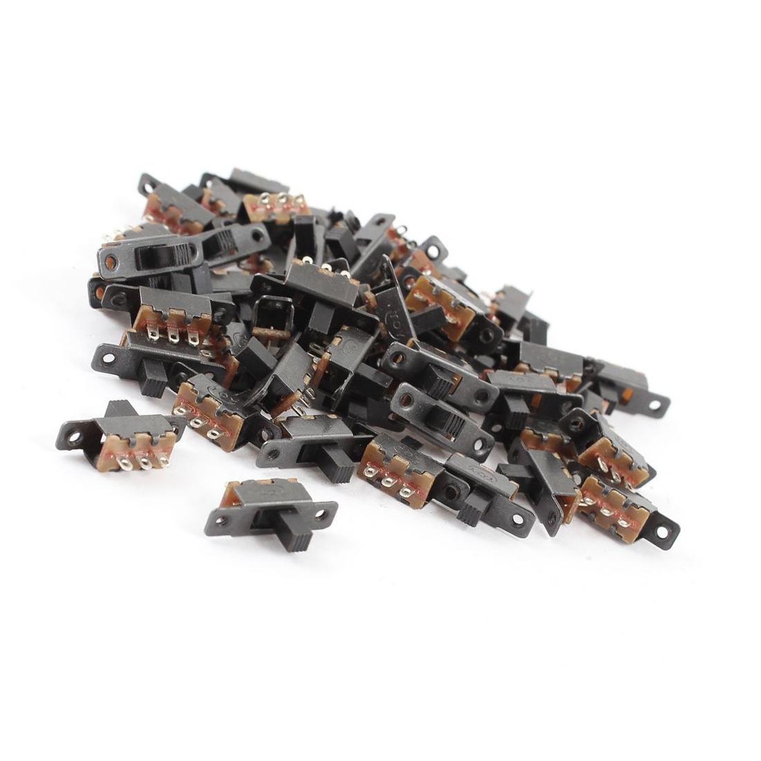 5X(1S2 55 Stueck 3 Klemmen Leiterplattenmontage 2 Position 1P2T Mini ...