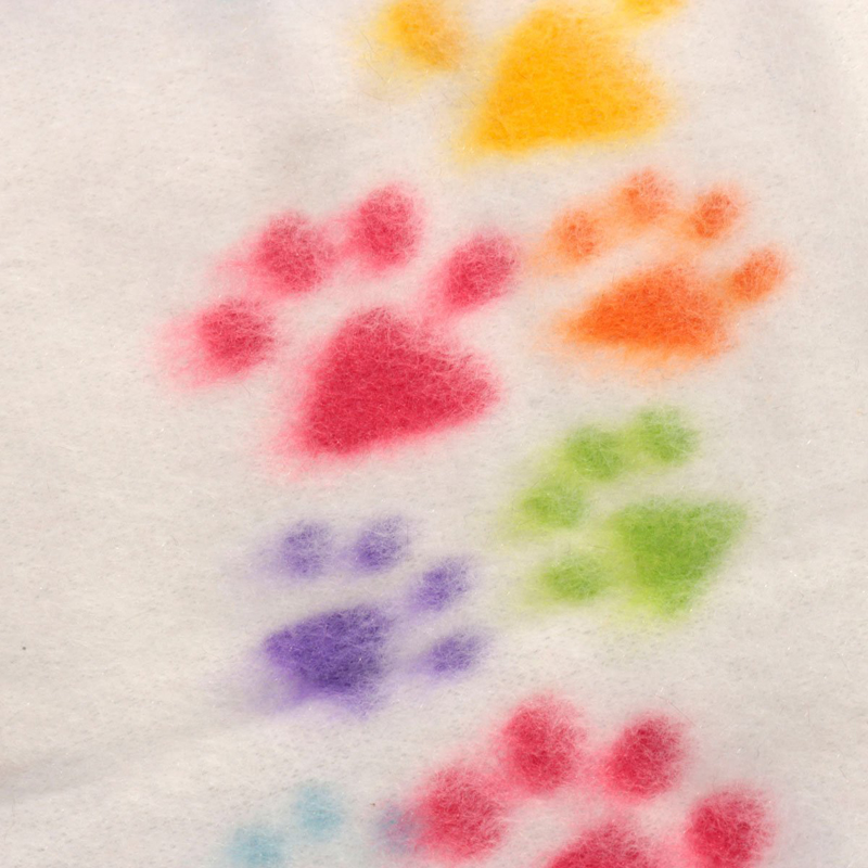 1X-Foot-Print-Pet-Blanket-Animal-fleece-blanket-blanket-mat-Cats-and-dogs-goo-BR thumbnail 5