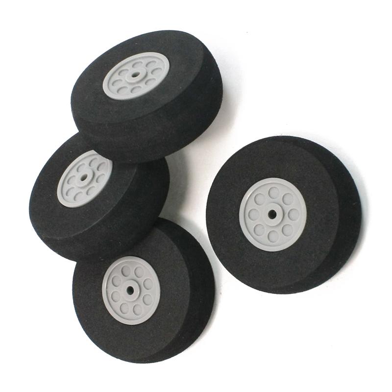 4-piezas-cubo-de-plastico-de-espuma-negro-rueda-de-55mm-de-diametro-de-los-a-cv4 miniatura 2