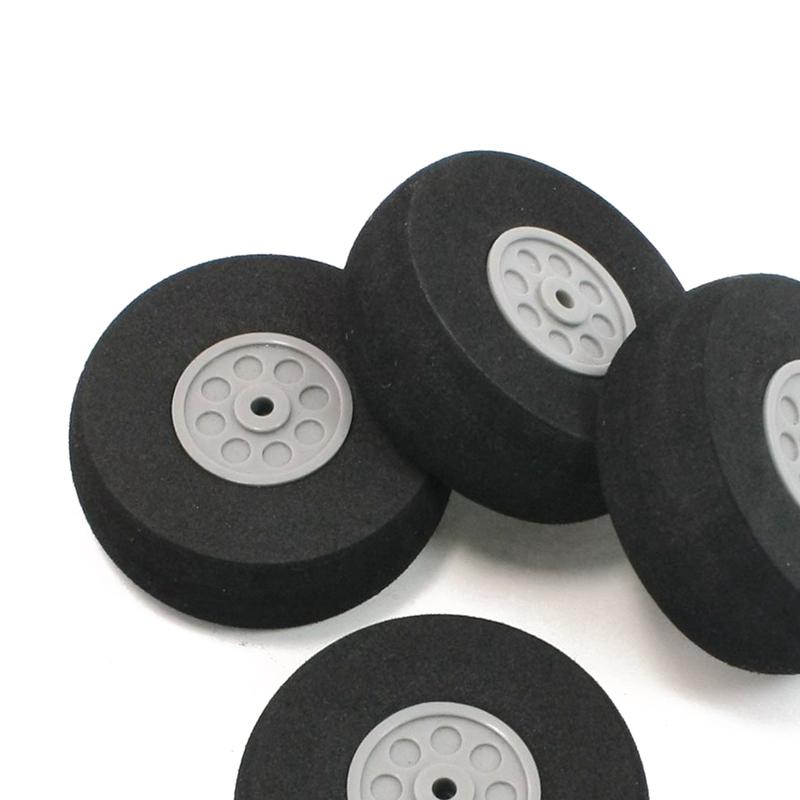 4-piezas-cubo-de-plastico-de-espuma-negro-rueda-de-55mm-de-diametro-de-los-a-cv4 miniatura 3