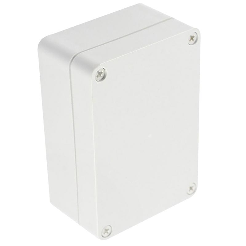 2X-Caja-de-proyecto-electronico-de-conexiones-de-plastica-de-cubierta-trans-J9R7 miniatura 3