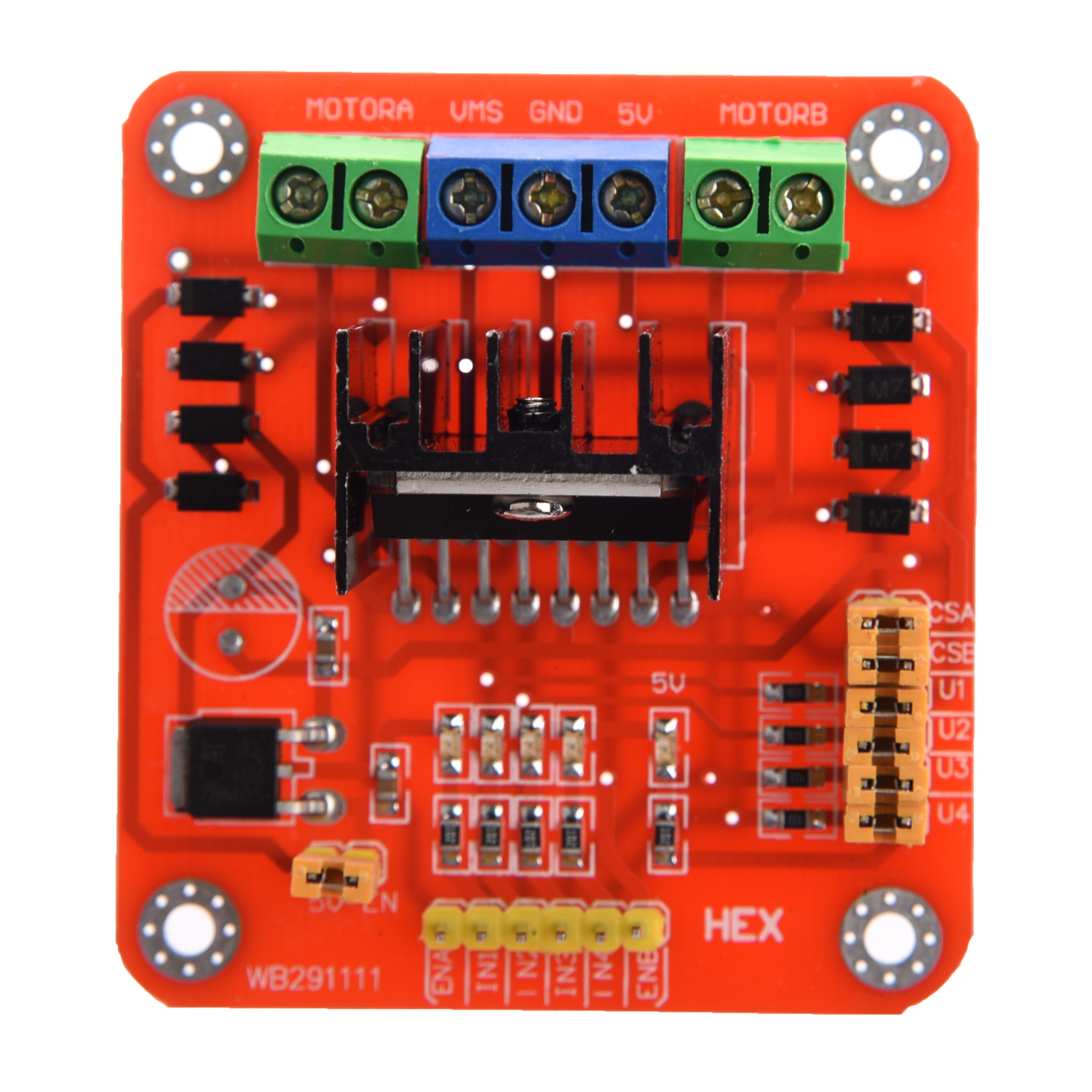 L298n Dual H Bridge Motor Driver Controller Board Module A1w7 Three Phase Dc Control Circuit Item Specifics