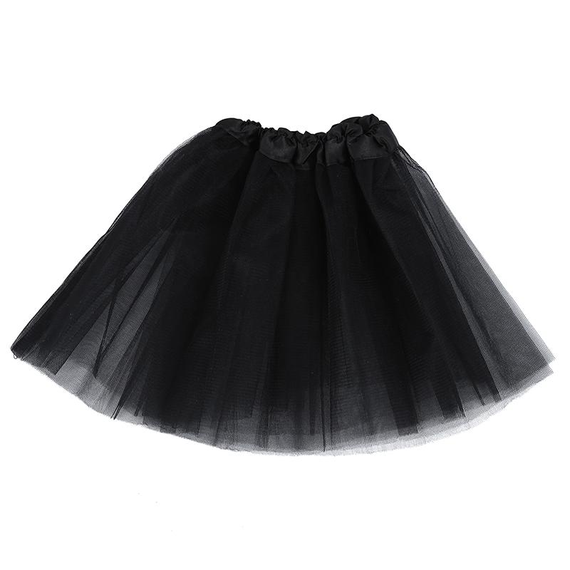 a15f04613 La imagen se está cargando Tutu-Falda-De-Tul-Negro-Disfraz-Bailarina-Ballet-