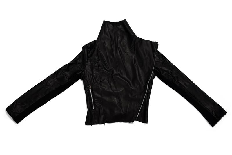 5X (Moda (Moda (Moda Vintage para mujer ajustada para ciclismo motociclismo de cuero PU blando con cremallera Jac Q2M9 e5520c