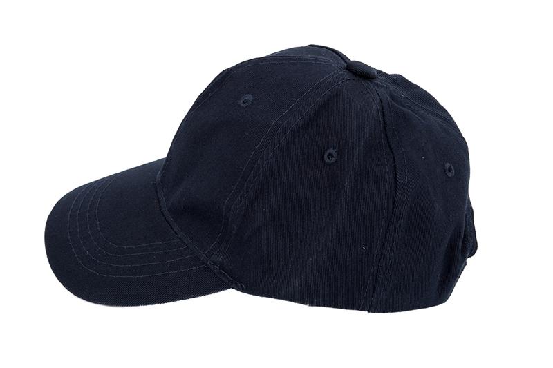 6696a14e32 Plain Baseball Cap Girls Boys Junior Childrens Hat Summer-Navy blue A2S1