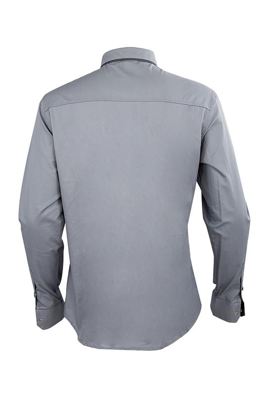 Nueva-Camisa-de-algodon-de-otono-de-primavera-para-Los-hombres-Camisa-casua-L4O9 miniatura 9