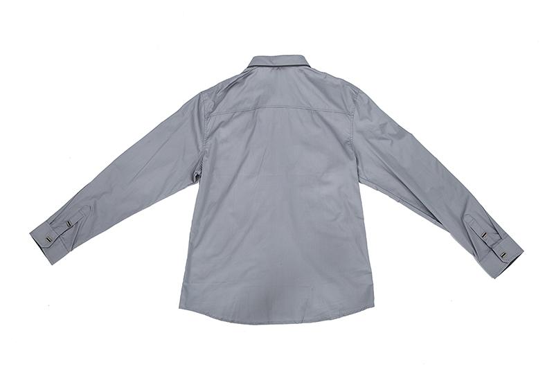 Nueva-Camisa-de-algodon-de-otono-de-primavera-para-Los-hombres-Camisa-casua-L4O9 miniatura 11
