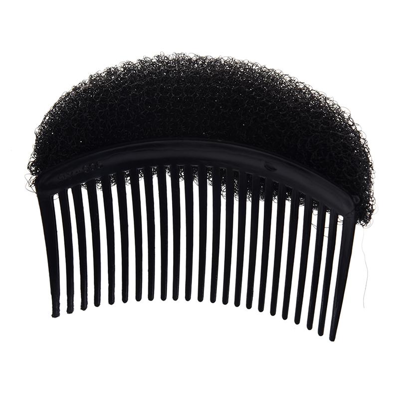 Negro-Disenador-de-pelo-Moldeador-Colmena-suelto-volumen-Espuma-chichon-horqX6P9 miniatura 4