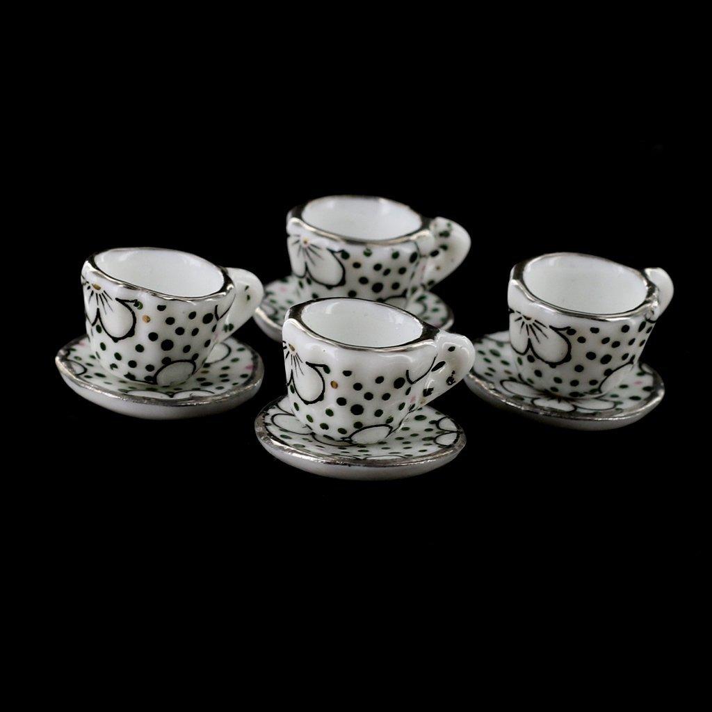 puppenhaus miniatur speise geschirr porzellan tee set 15 stk y8u1 ebay. Black Bedroom Furniture Sets. Home Design Ideas
