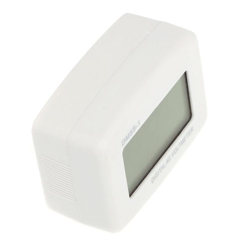 DM 55 - 1 AC 80 - 300 V LCD digital voltmeter US plug - in electric pen met X7H3 2