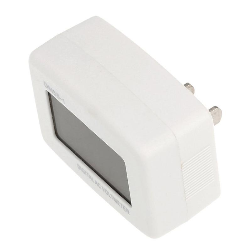 DM 55 - 1 AC 80 - 300 V LCD digital voltmeter US plug - in electric pen met X7H3 3