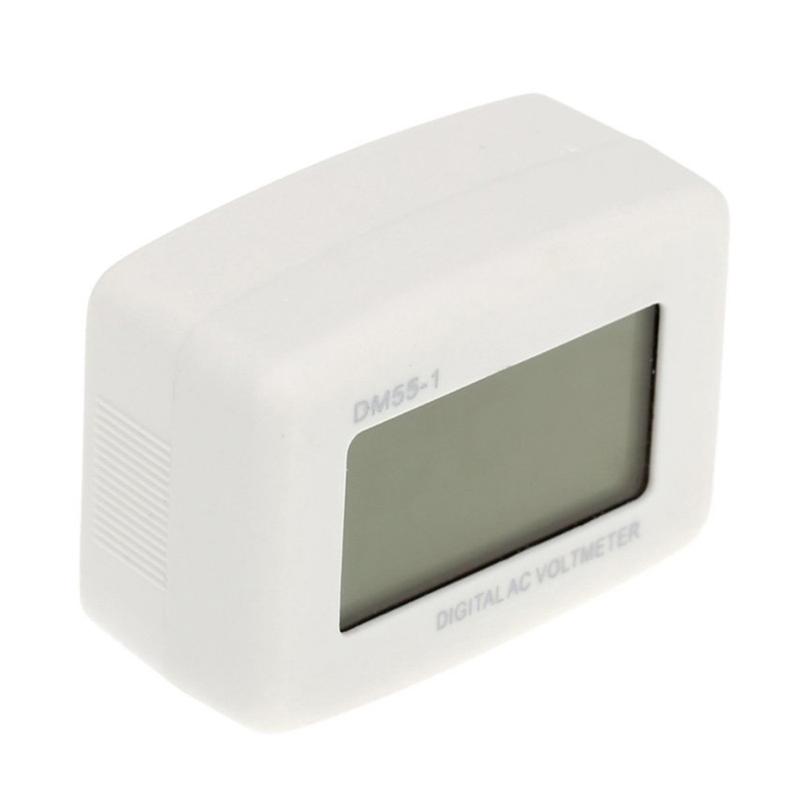 DM 55 - 1 AC 80 - 300 V LCD digital voltmeter US plug - in electric pen met X7H3 4