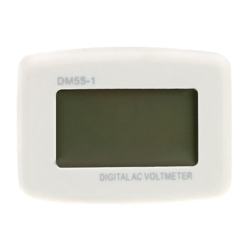 DM 55 - 1 AC 80 - 300 V LCD digital voltmeter US plug - in electric pen met X7H3 6